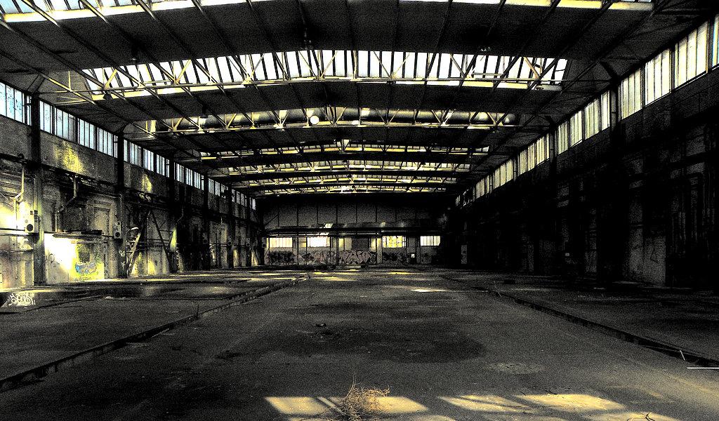 Industriële look in het interieur