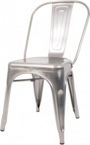 stalen retro café stoel