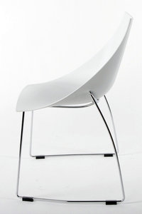 Bokum betaalbare designstoel wit