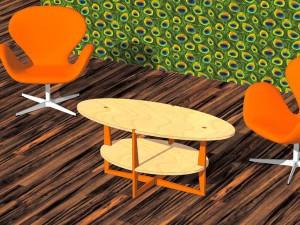 design tafel loft