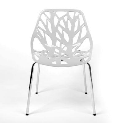 Witte Stoelen Design.Witte Designstoelen Terug Van Weg Geweest