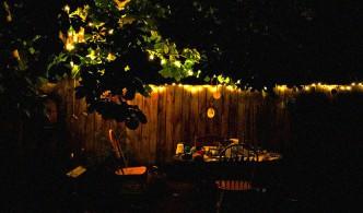 tuin sfeer kachel haard