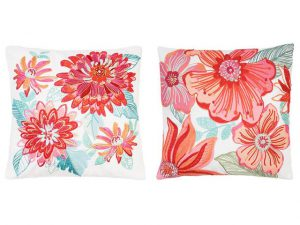 Flowery Cushion sloop van Sia Homefashion