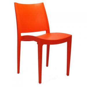 balkonstoel rood bento