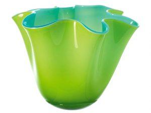 Glazen vaas van Leonardo